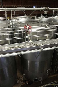 Rodney Strong stainless tanks
