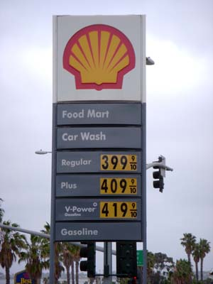 gas prices on April 30