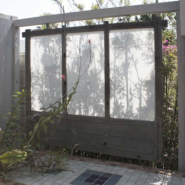 screening lost in the landscape On hanging privacy screen outdoor
