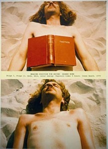 Dennis Oppenheim Reading Position for Second Degree Burn