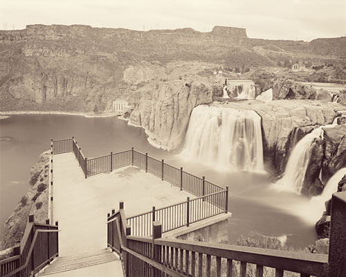 Viewpoint, Shoshone Falls, Idaho