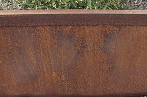Patina on steel