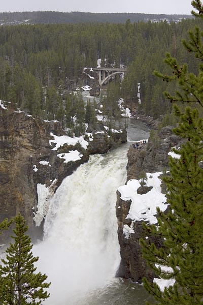 Upper Fall, Yellowstone River
