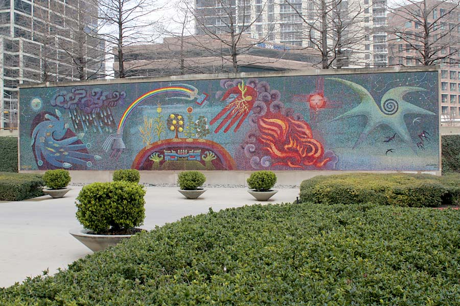 Dallas lost in the landscape for Dallas mural artists