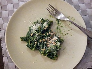 Nettle pasta, anyone?